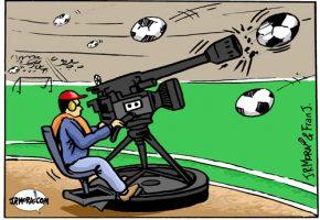 Lenguaje bélico en el fútbol